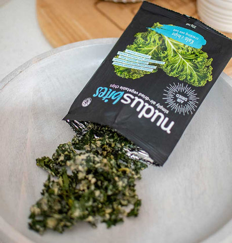 nudus kale chips - the goodie box