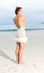 Summer dress on the beach