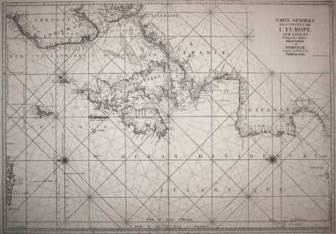 Antique Nautical Chart