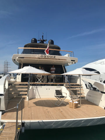 Salorenzo yacht at Genova Boat Show