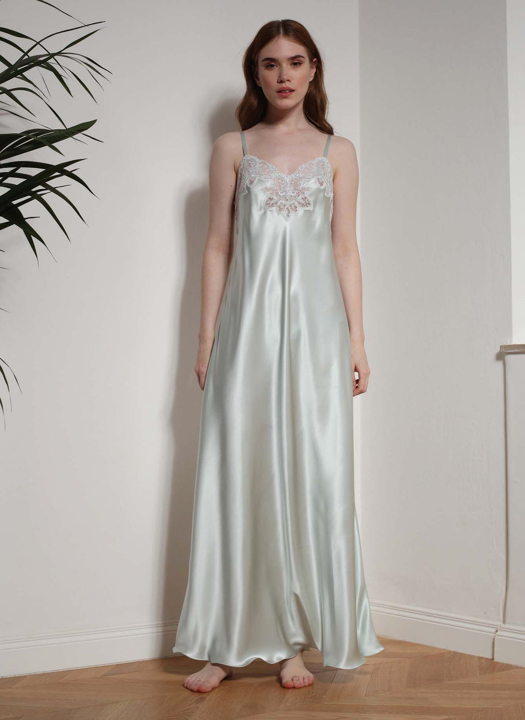 Nightgown in Pure Silk