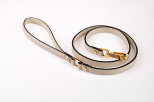 Dog Leash in Soft Leather - Antique