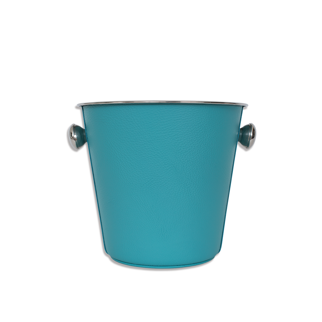 Regular Ice Bucket in Soft Leather