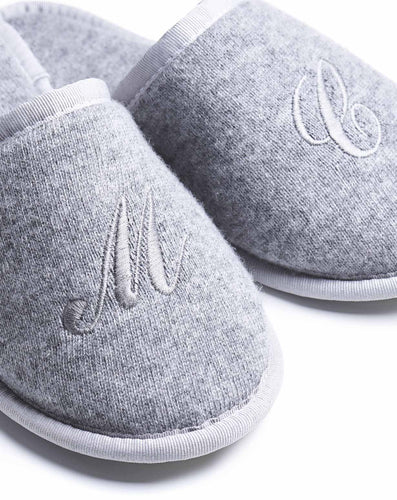 Cashmere Guest Slippers