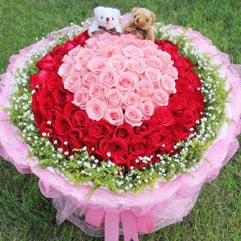 Gonna like you( Mix of 99 Diana Roses and Red Roses-
