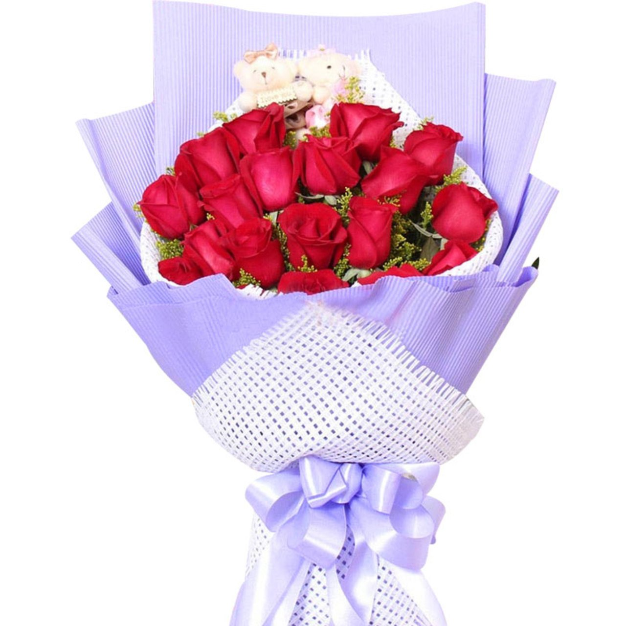 I will always love you( 19 red roses)