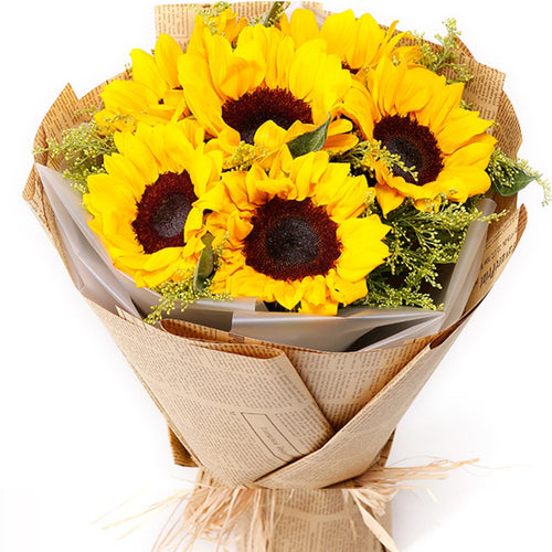 Because of love( 6 sunflowers-