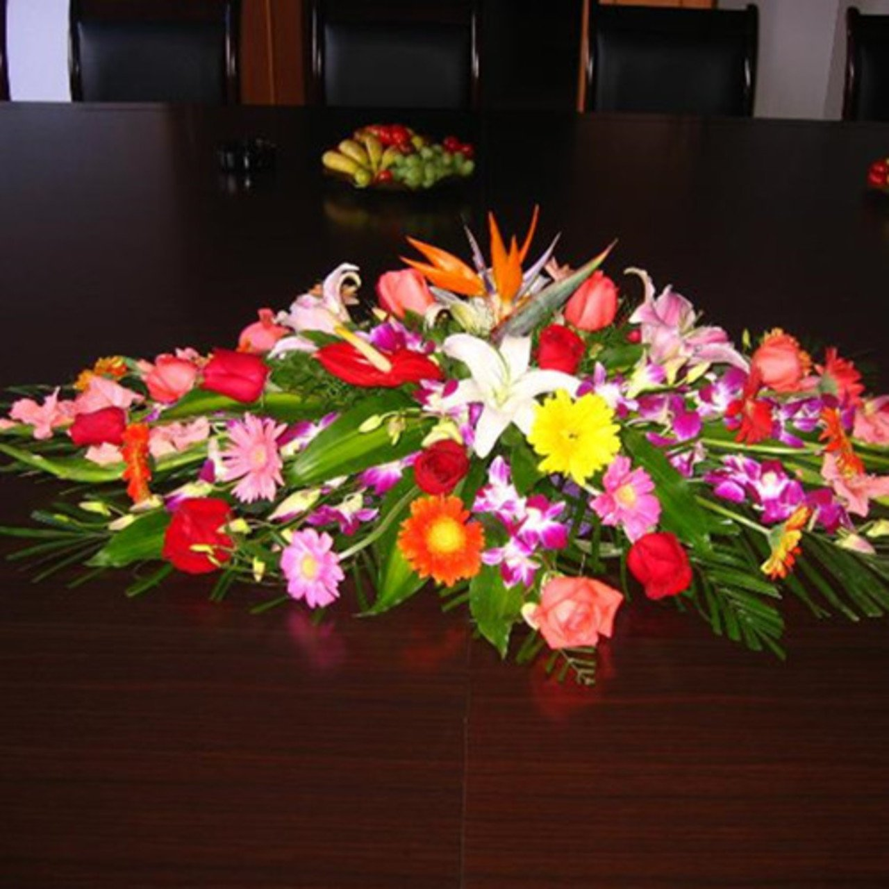 Conference table flower A