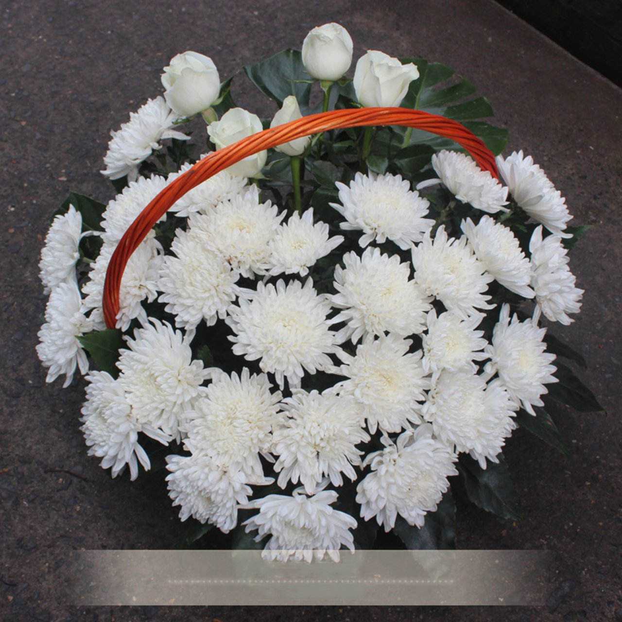 Martyrs never forget (memorial wreath)