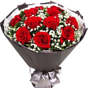 Passionate(11 red roses)