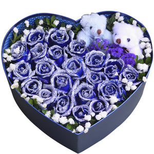 Love is simple( 21 boutique blue enchantress + 2 cute bears-