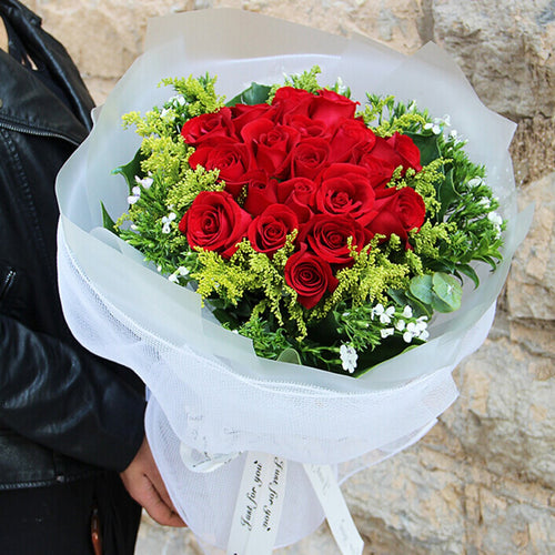 love you forever(21 red roses)