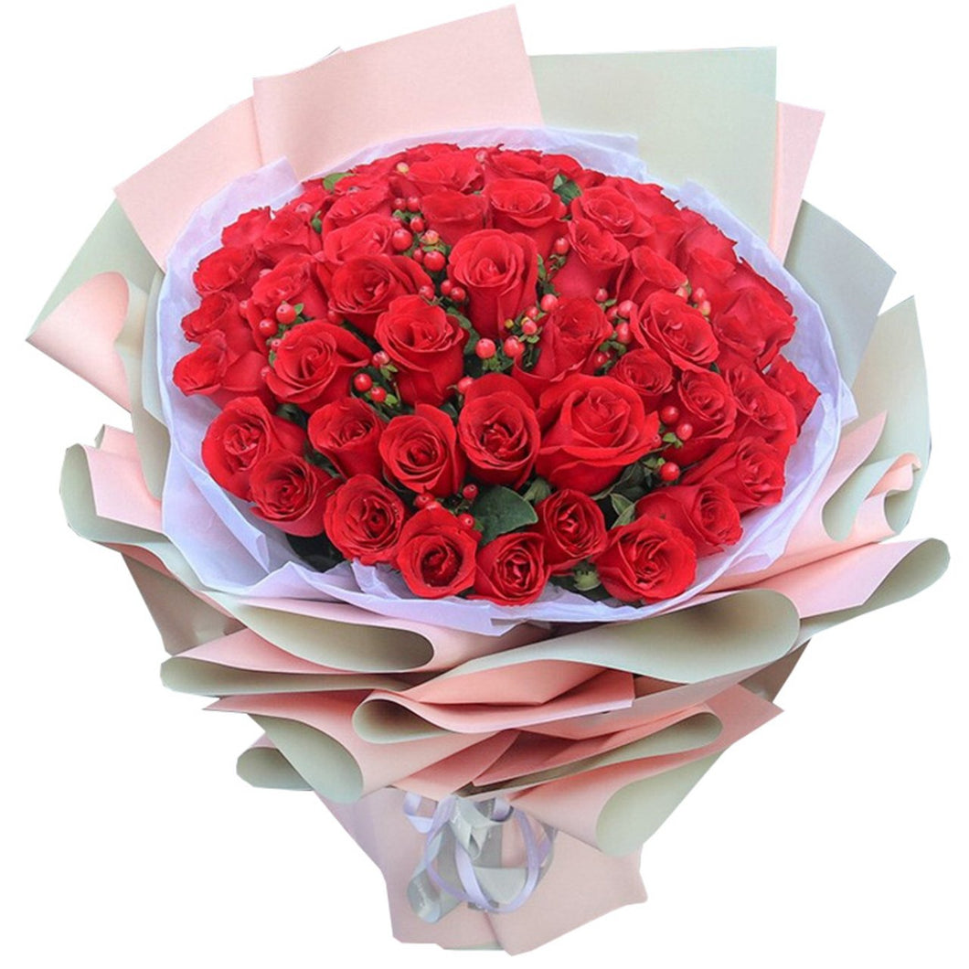 Mark of love( 33 red roses-