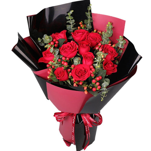 love at first sight(11 red roses)