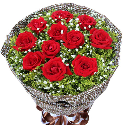 Love is eternal(11 red roses)