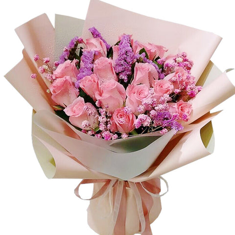 As gentle as you( 19 Diana Pink Roses-