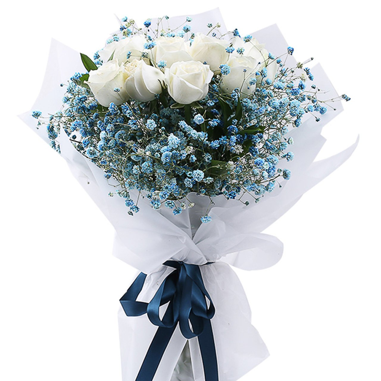 Special you(11 white roses)