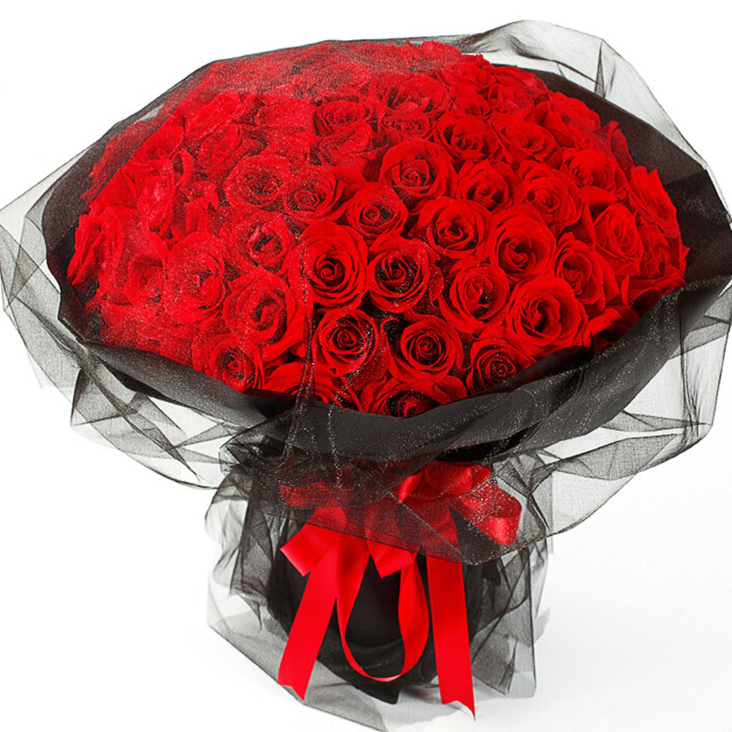Thank you for your love(99 red roses)
