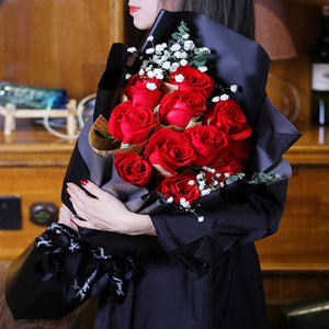 The most beautiful you(11 red roses)