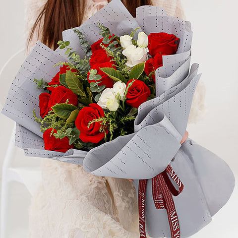 Really love you(11 red roses)
