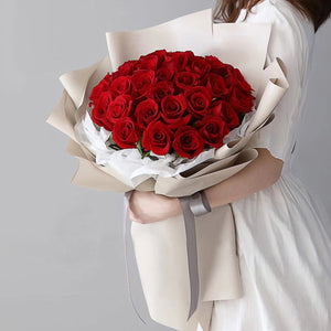 Dear love(33 fine red roses)