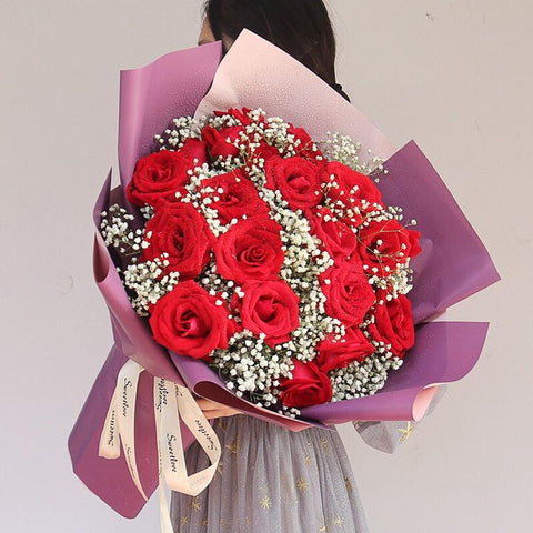 Owning the love(21 red roses)