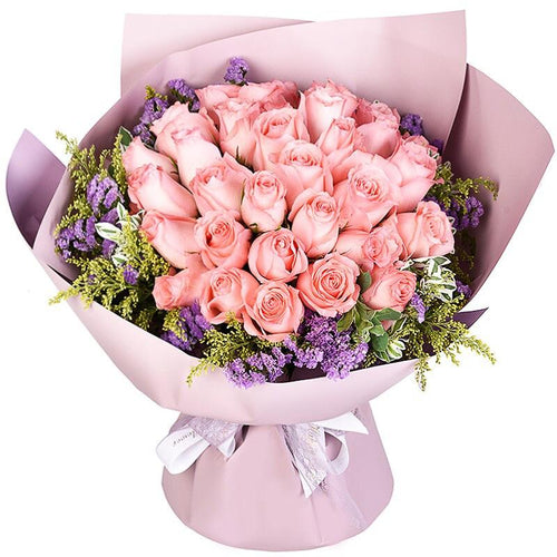 Your scent( 33 Diana Pink Roses)