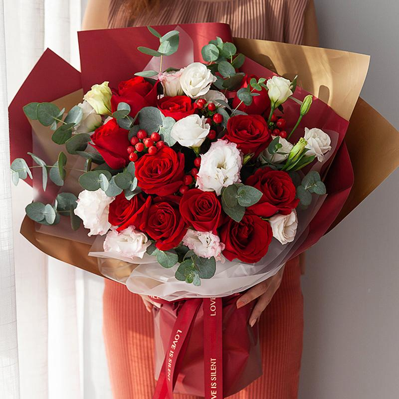 Love for a lifetime(11 red roses)