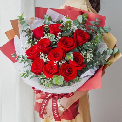 Love you forever(11 red roses)