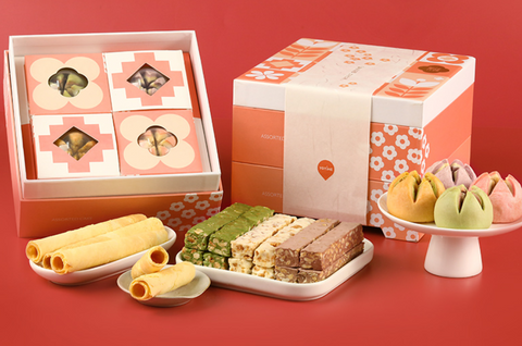 Chinese traditional cake/ biscuit/ cookies gift box(hamper)