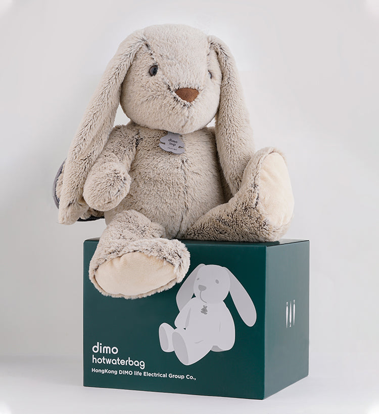 Grey Rabbit Hot water Bag