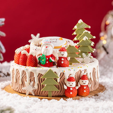 2 Pounds Christmas Charcolate Cake 2020 to China
