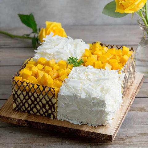 Durian & Mango Cake To Macau Peninsula
