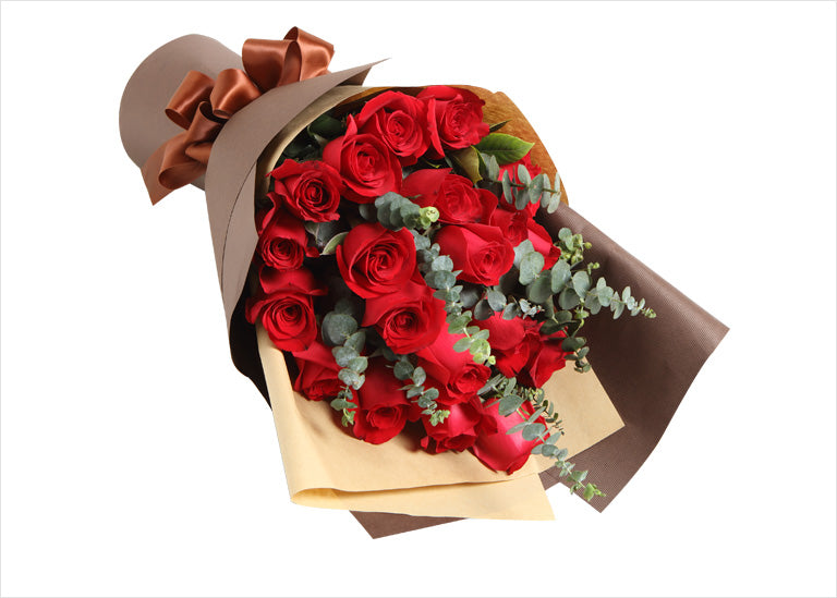 19 red Roses to China