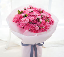Load image into Gallery viewer, 99 pink Carnations, 1 pink long Carnations to China