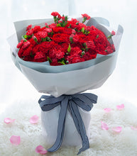 Load image into Gallery viewer, 99 red Carnations, 1 red long Carnation to China