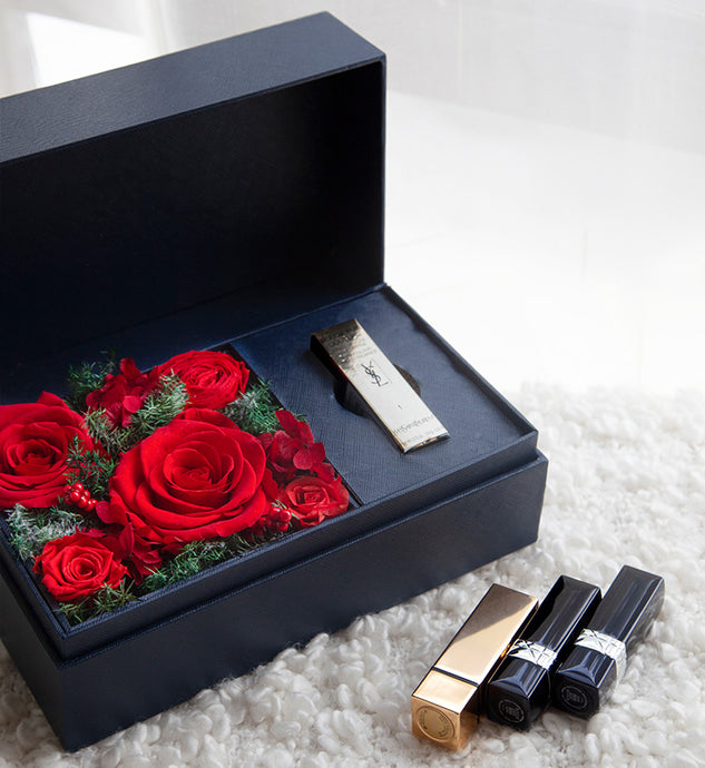 Preserved Flowers+Dior#520 Lipsticks to China