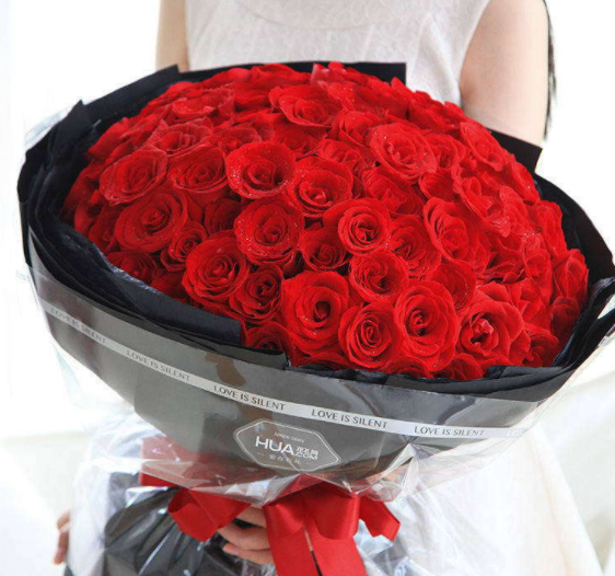 99 red roses to HongKong or Macau