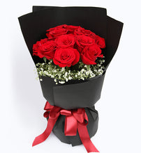 Load image into Gallery viewer, 11 red roses, matching with the stars to China