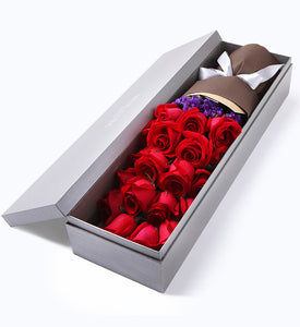 Selected Red Rose x 19 with Gift Box