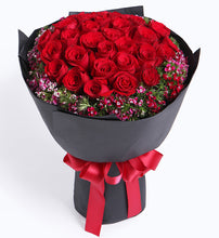 Load image into Gallery viewer, Romantic Red Roses x 33 Bouquet