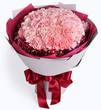 Load image into Gallery viewer, 33 pink carnations to China