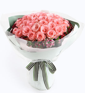 50 Diana Pink Rose to China