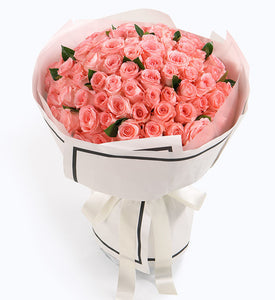 99 pink roses to HongKong or Macau (price in usd)