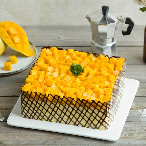 Mango Fruit Cake to China