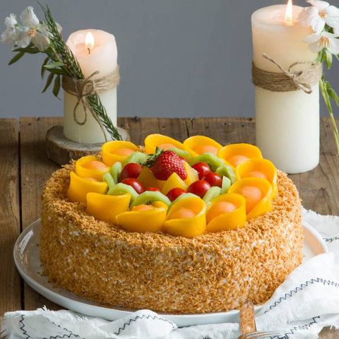 Coconut Fruit Cake
