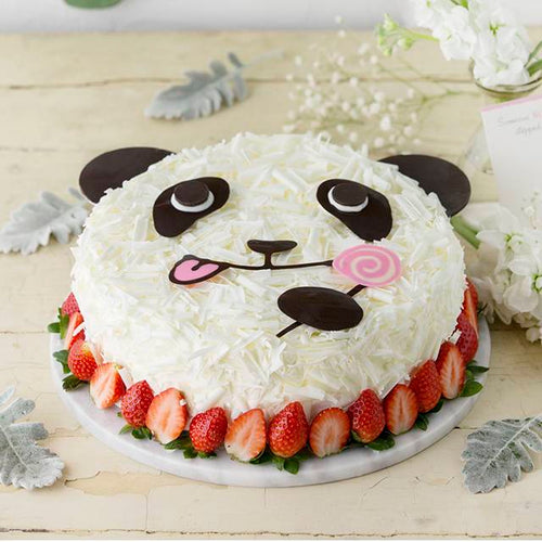 Cute Panda Cake To China