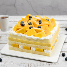 Load image into Gallery viewer, 2 pounds Blue Berry & Mango Cake To China