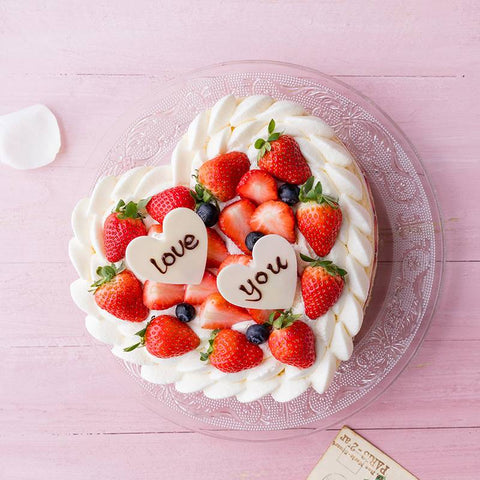 Love U Mousse Cake with Strawberry