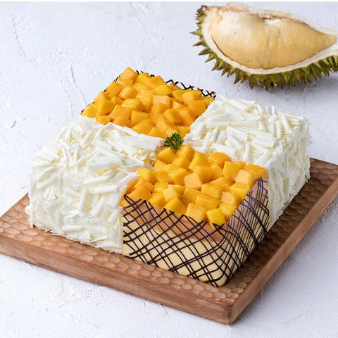 Durian & Mango Cake To China